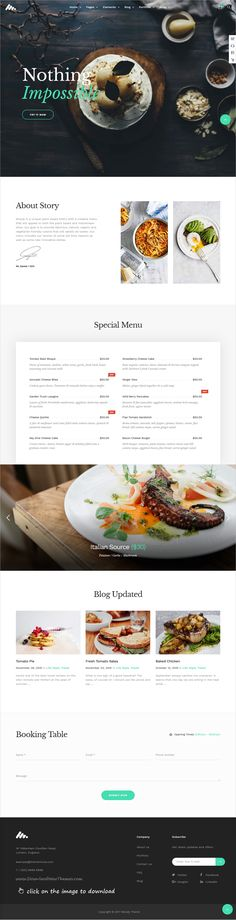 Moody is clean and modern design responsive multipurpose #WordPress theme for #restaurant and #cafe website with 21+ niche homepage layouts to live preview & download  click on the image.