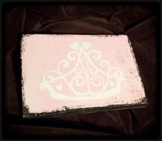 Nursery or Lil Girl Room Decor     Paris Royalty by LilMissTexan on Etsy, $18.00