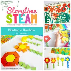 Another example of a activity thats included in our STEAM bundle this week! Also included in this bundle are science… Stem Science, Kindergarten Activities, Preschool Activities, Book Activities, Science Week, Science Projects, Rainbow Activities, Steam Activities, Spring Activities