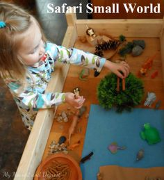 ideas toys topic activities small world - Kids education and learning acts Indoor Activities For Kids, Kids Learning Activities, Carnival Of The Animals, Daycare Themes, Clever Kids, Sensory Boxes, Small World Play, Safari Theme, Learning Through Play