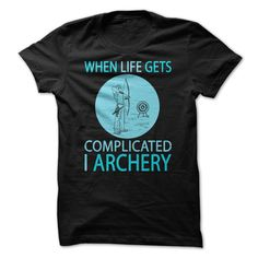 archery - Quantities are limited and will be available for a few days only. Makes a perfect gift. (Archery/Archer Tshirts)