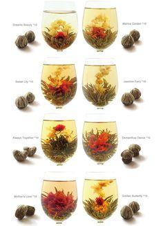 80 Bulk-Assortment Blooming Tea / Flowering Tea by qingxianghualou