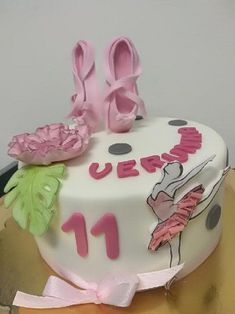 Cake witch ballerine - cake by MilenaSP