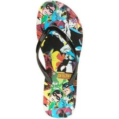 Batman Womens Flip Flop Sandals L910 *** For more information, visit image link.(This is an Amazon affiliate link and I receive a commission for the sales)