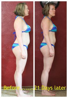 Heath and Fitness, 21 Day Fix results