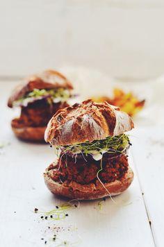 fanny's veggie burger | healthy recipe ideas @xhealthyrecipex |