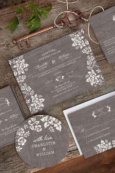 Wedding Invitation Package - Deer Pearl Flowers / http://www.deerpearlflowers.com/wedding-stationery/wedding-invitation-package/