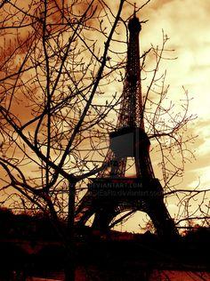 Eiffel. by ~LoNeLinEsStEaRs on deviantART