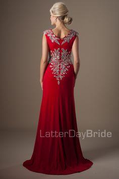 Modest Prom Dresses : Delilah