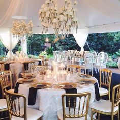 Forks&Brides; — I love marquee style weddings , this one caught my...