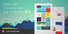 Download and review of Freelo WP - Creative WordPress Portfolio Theme, one of the best Themeforest Creatives themes