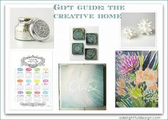 gift guide for the creative home