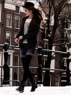 from Maison Scotch lookbook