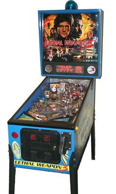 """Data East """"Lethal Weapon 3"""" pinball machine"""