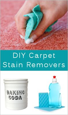We always stress on spills and stains on our carpet that it's a very good idea to have removal tips handy using what we already have at home.