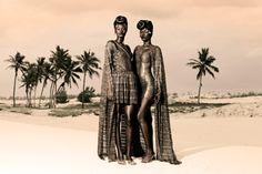 "Aminata Faye and Sacha Kara for Adama Paris ""Sahara Chic"""