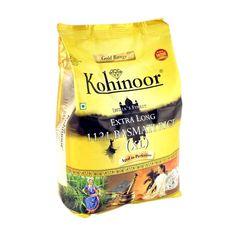 Buy #Kohinoor Extra Long #Basmati #Rice Online in Delhi, Noida, Ghaziabad, NCR at Best Price Rs.183/-