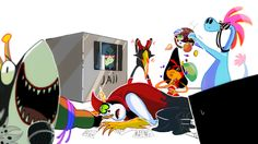 Wander over yonder - draw the squad monopoly