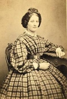 1860s hair style