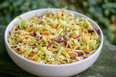 Ramen Broccoli Slaw - half the sugar - try with peanut dressing or any other oriental dressing