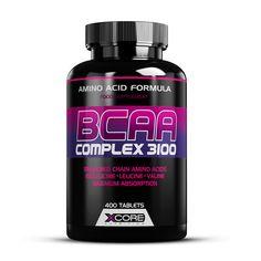 BCAA Complex 3100 promove o crescimento e a recuperação muscular.