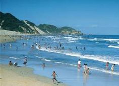 EAST LONDON city is famed for its long stretches of beach which attract numerous sunbathers, anglers and surfers. South African Holidays, Seaside Towns, White Sand Beach, East London, East Coast, Landscape Photography, Surfing, Places To Visit, Africa