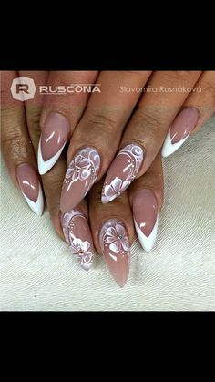 36 Gorgeous Lace Nail Art Designs Lace is a classic design element in modern fashion. Today we are here to share and discuss the concept of lace nail art design. Lace Nail Art, Lace Nails, Flower Nails, Nail Art Diy, Diy Nails, Manicure, Nail Nail, French Nails, Nail Art Designs