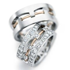 255 Best His  Her Matching Wedding Bands images in 2019  Jewelry Wedding band ring Wedding bands