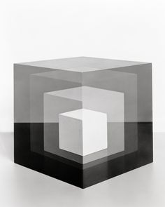 Cubes for Albers and Lewitt, Jessica Eaton.  It's cosmic!