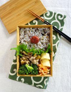 Pork and daikon radish kimpira bento/豚肉と大根のきんぴら弁当