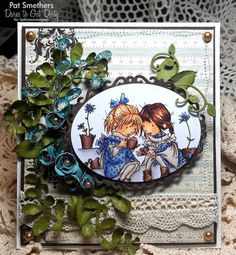 DTGD13 ~Girlfriend Garden~ by Blooms in a Box - Cards and Paper Crafts at Splitcoaststampers