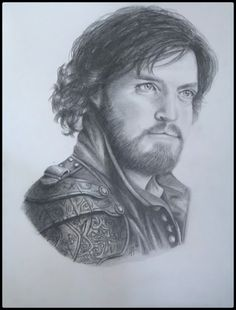 The Musketeers fan art - Athos by ebm36 on tumblr