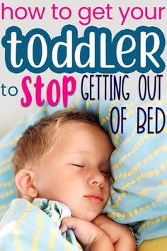 Know that you are definitely not the only mom to deal with this behavior problem! A toddler who keeps getting out of bed in the middle of the night is pretty common. Here are some tips and strategies to get your little one sleeping through the night easily! #toddlerparenting #toddlermom #toddlersleep