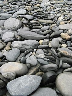 River Rocks- when I'm at the river, I sort them. # my crazy ways~