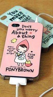 iPhone Kawaii Girl Cell Phone Case