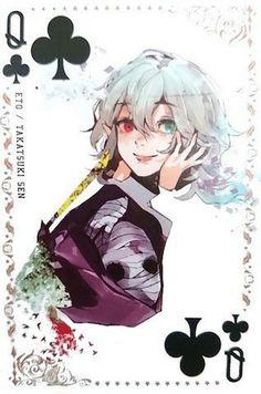 Clover12 Queen #Eto #TakatsukiSen #TokyoGhoul
