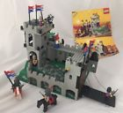1990 LEGO Castle Crusaders Kings Mountain Fortress 6081 COMPLETE w/ Instructions