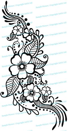 42 new ideas tattoo foot henna mehndi designs Mehndi Designs, Henna Tattoo Designs, Flower Tattoo Designs, Flower Tattoos, Vine Tattoos, Henna Foot Designs, Henna Designs On Paper, Paisley Tattoo Design, Small Tattoos