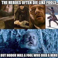 Robert Baratheon, Talisa Maegyr, Robb Stark, Ned Stark, Oberyn Martell & Hodor
