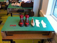 Making my sneaker (Dick is the name of my boyfriend btw;)