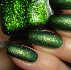 Green, Glaze & Glasses: Lacquester - Pornflakes - Greeench