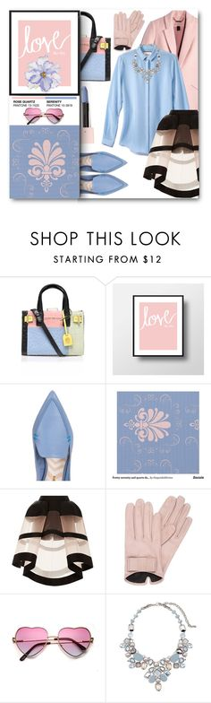 """""""Color of the year"""" by noralyn ❤ liked on Polyvore featuring Kurt Geiger, Nicholas Kirkwood, Delpozo, Mario Portolano, Chico's, Universal Lighting and Decor, women's clothing, women, female and woman"""