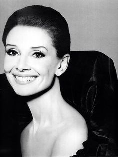 Audrey Hepburn for a Revlon advertising campaign photographed by Richard Avedon in 1987