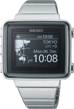 SEIKO spirit smart EPD active matrix solar radio fix metal band SBPA003 mens watch
