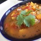 Sweet Potato Minestrone  Love minestrone, but never thought of adding sweet potatoes to the mix!