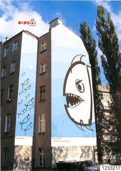 Wrocław, Poland creating art for same locale