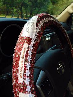 Adventure Awaits Hippie Chic Non-Slip Steering Wheel Cover