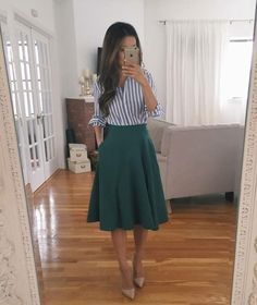 Again, I think I could wear this style of skirt