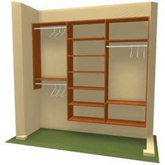 diy closet organizer | DIY Closet Storage Organization, Closet Design. New York, NY - Three ...