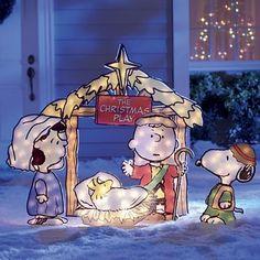 5-Piece Peanuts Nativity Scene